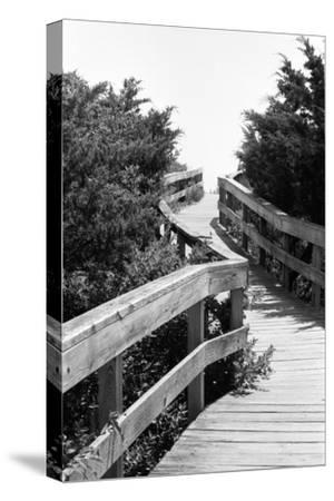 To the Beach-Jeff Pica-Stretched Canvas Print