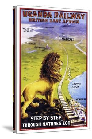 Uganda Railway--Stretched Canvas Print