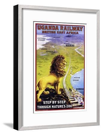 Uganda Railway--Framed Premium Giclee Print