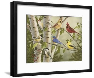 Summer Friends-William Vanderdasson-Framed Giclee Print