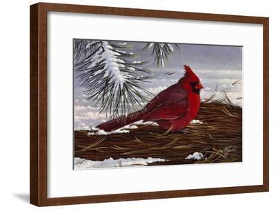 Under the Pine-Wilhelm Goebel-Framed Giclee Print