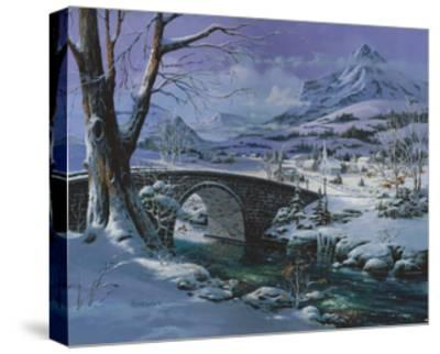 Snowy River-Michael R. Humphries-Stretched Canvas Print