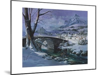 Snowy River-Michael R. Humphries-Mounted Giclee Print