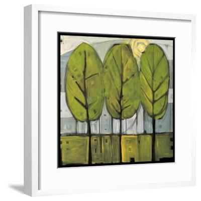 Summer Trees-Tim Nyberg-Framed Premium Giclee Print