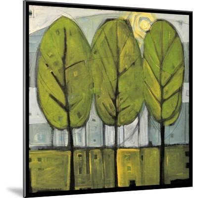 Summer Trees-Tim Nyberg-Mounted Premium Giclee Print