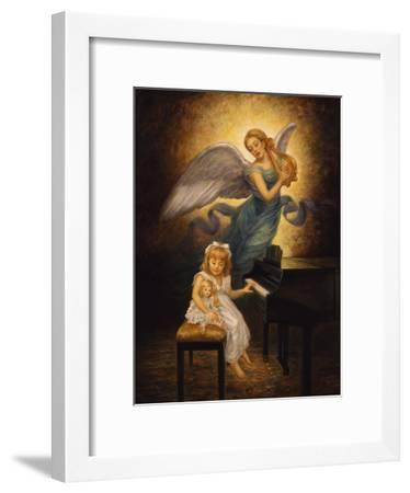 The Piano-Edgar Jerins-Framed Giclee Print