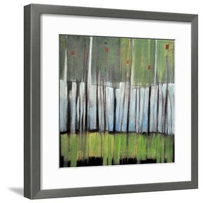 Trees with Red Birds-Tim Nyberg-Framed Premium Giclee Print