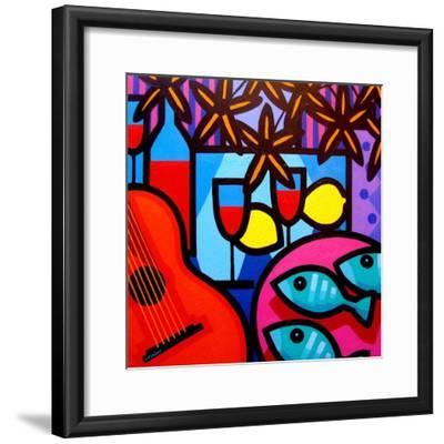 Still Life with Guitar-John Nolan-Framed Premium Giclee Print