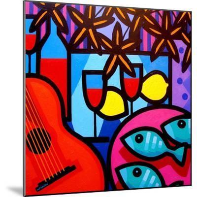 Still Life with Guitar-John Nolan-Mounted Premium Giclee Print