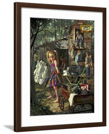 The Clubhouse-Bob Byerley-Framed Giclee Print