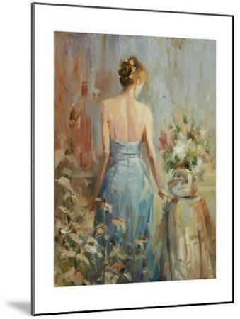 Thoughtful-Steve Henderson-Mounted Giclee Print