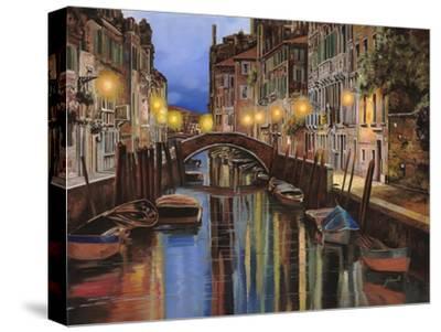 Venezia All'Alba-Guido Borelli-Stretched Canvas Print