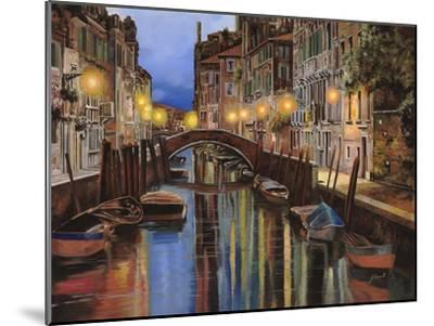 Venezia All'Alba-Guido Borelli-Mounted Giclee Print