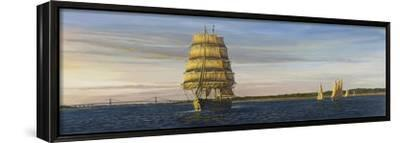 Spirit of Newport-Bruce Dumas-Framed Stretched Canvas Print