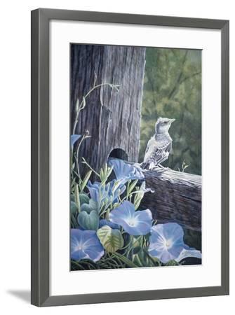 The Fledgling - Young Mockingbird-Wilhelm Goebel-Framed Giclee Print