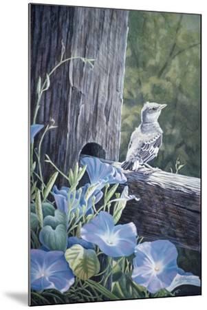 The Fledgling - Young Mockingbird-Wilhelm Goebel-Mounted Giclee Print