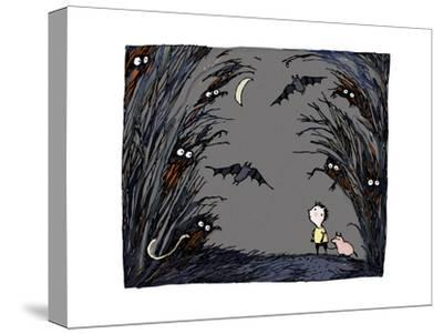 Spooky-Carla Martell-Stretched Canvas Print