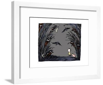 Spooky-Carla Martell-Framed Giclee Print
