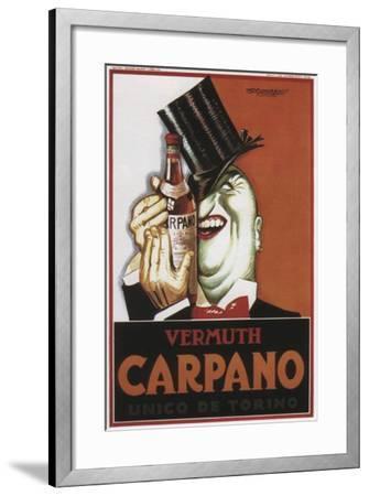 Vermouth Carpano Argentina--Framed Giclee Print