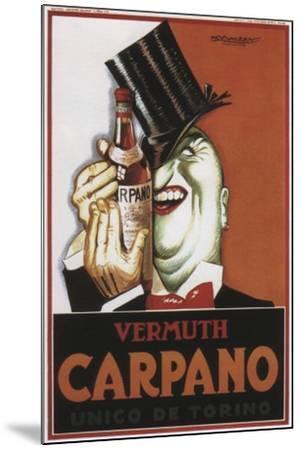 Vermouth Carpano Argentina--Mounted Giclee Print