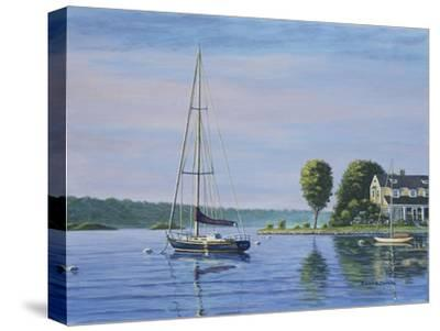 Watch Hill Harbor-Bruce Dumas-Stretched Canvas Print