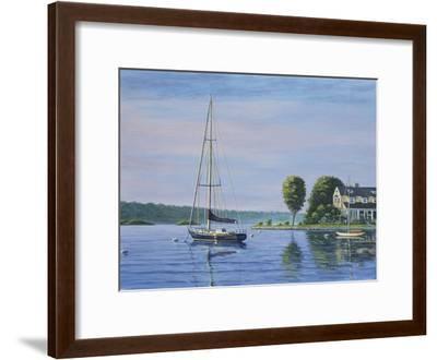 Watch Hill Harbor-Bruce Dumas-Framed Giclee Print