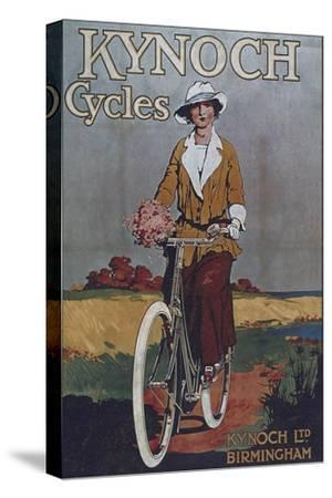 Vintage Bicycle--Stretched Canvas Print