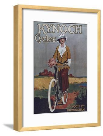 Vintage Bicycle--Framed Premium Giclee Print
