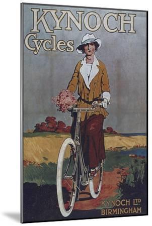 Vintage Bicycle--Mounted Premium Giclee Print
