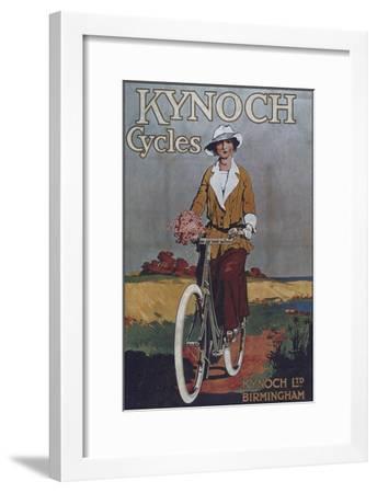 Vintage Bicycle--Framed Giclee Print