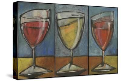 Wine Trio Triptych-Tim Nyberg-Stretched Canvas Print
