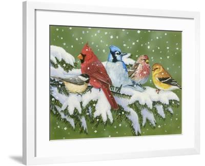 Winter Friends-William Vanderdasson-Framed Giclee Print