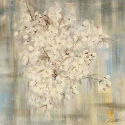 White Cherry Blossom I-li bo-Framed Giclee Print