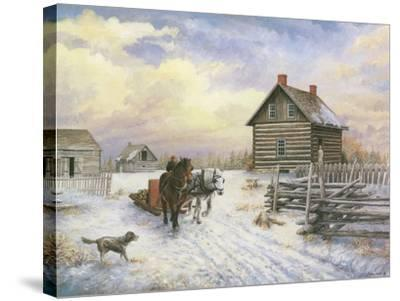 Wintertime-Kevin Dodds-Stretched Canvas Print