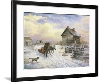 Wintertime-Kevin Dodds-Framed Giclee Print