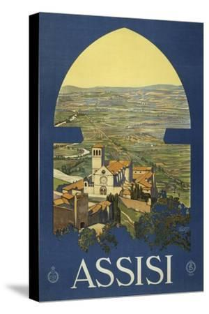 Assisi--Stretched Canvas Print