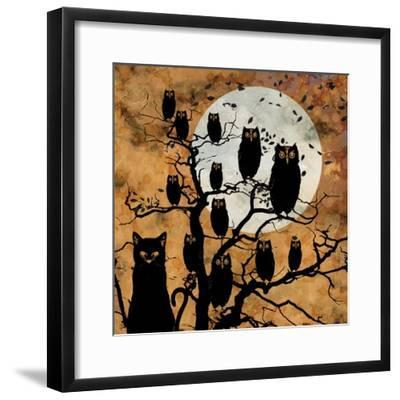 All Hallow's Eve III--Framed Giclee Print