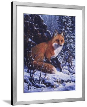 Audible Hush-R.W. Hedge-Framed Giclee Print