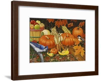 Autumn Bounty-William Vanderdasson-Framed Giclee Print