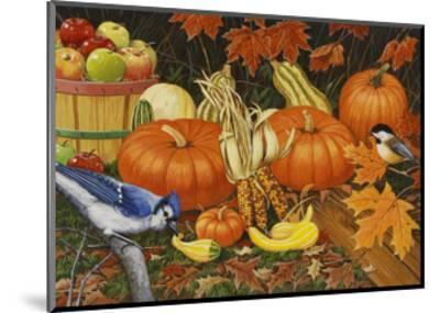 Autumn Bounty-William Vanderdasson-Mounted Giclee Print