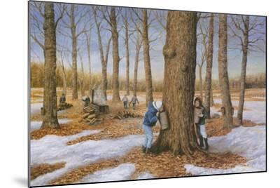 A Family Tradition-Kevin Dodds-Mounted Giclee Print