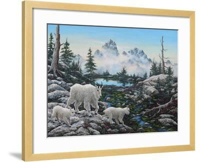 Alpine Country-Jeff Tift-Framed Giclee Print