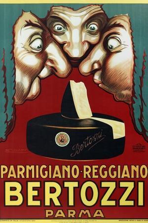 Bertozzi--Stretched Canvas Print