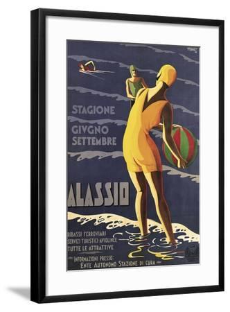 Alassio--Framed Giclee Print