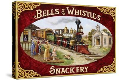 Bells and Whistles Train-Lee Dubin-Stretched Canvas Print