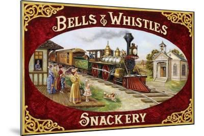 Bells and Whistles Train-Lee Dubin-Mounted Giclee Print