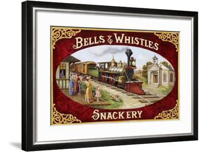 Bells and Whistles Train-Lee Dubin-Framed Giclee Print