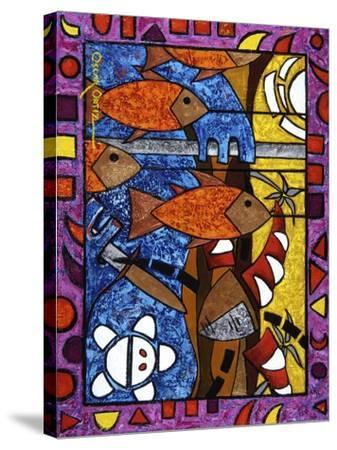 Art 3-Oscar Ortiz-Stretched Canvas Print