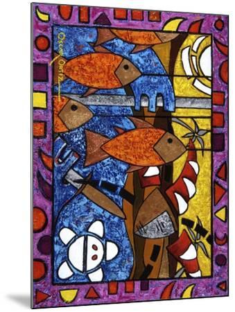 Art 3-Oscar Ortiz-Mounted Giclee Print