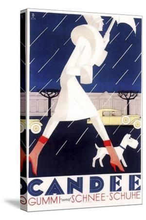 Art Deco--Stretched Canvas Print